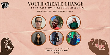 Youth Central: Youth Create Change Advocating for a More Equitable World tickets