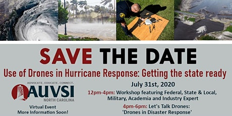 Use of Drones in Hurricane Response: Getting the State Ready tickets
