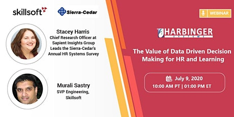 The Value of Data Driven Decision Making for HR and Learning tickets