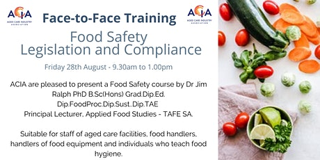 Food Safety - Legislation and Compliance tickets
