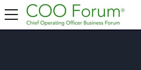 The COO Forum - Sydney Australia tickets