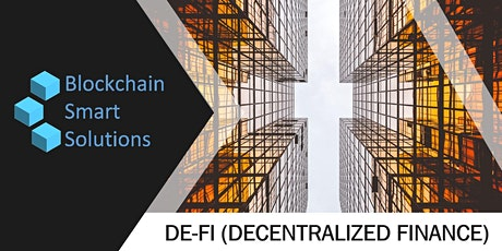 Certified De-Fi (Decentralized Finance) Associate | Webinar tickets