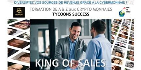 King of Sales -  Formation aux Crypto monnaies billets