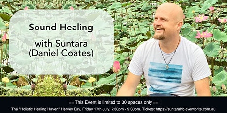 Suntara Sound Healing Journey - Hervey Bay tickets