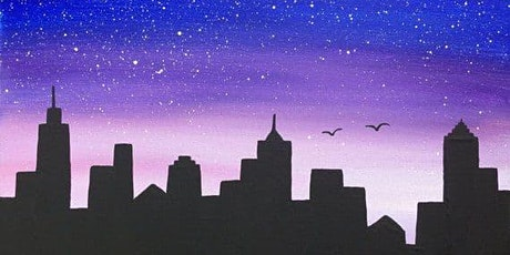 Silhouette Skyline Painting Workshop tickets