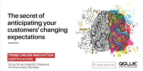 Trend Driven Innovation Certification tickets