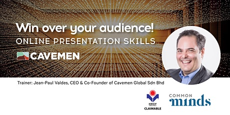 Win Over Your Audience - Online Presentation Skills tickets