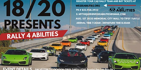 18/20 Presents Rally 4 Abilities tickets