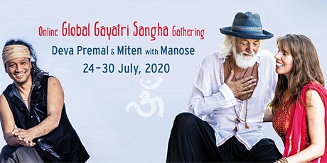 Deva Premal & Miten with Manose - Online Global Gayatri Sangha Gathering tickets