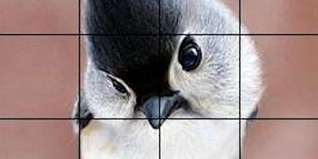 Bird Grid Drawing Workshop tickets