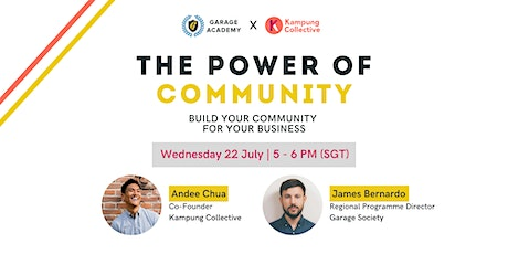 The Power Of Community - Build Your Community For Your Business tickets