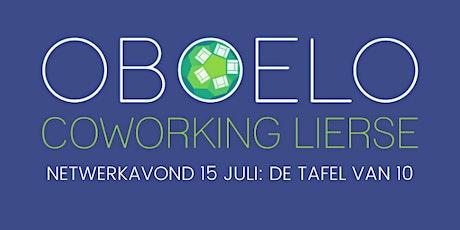 """Netwerkavond Oboelo: De tafel van 10 """" Eerste Hulp bij Business Ongevallen"""" tickets"""
