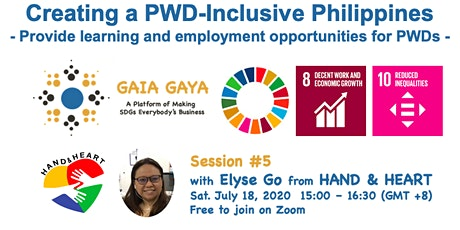 GAIA GAYA Session 5: Creating a PWD-Inclusive Philippines tickets