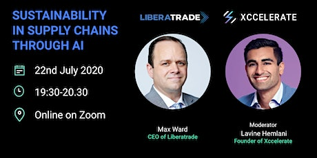 Sustainability in Supply Chains through AI | Xccelerate tickets