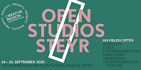 OPEN STUDIOS STEYR present: RUNDGANG 25.09. Tickets