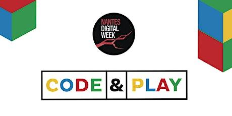 Code & Play :  découvrir le code et les métiers du numérique billets
