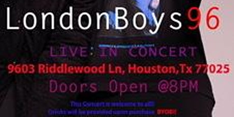 """Londonboys96 """"Nights Only"""" Free Show!!!! tickets"""