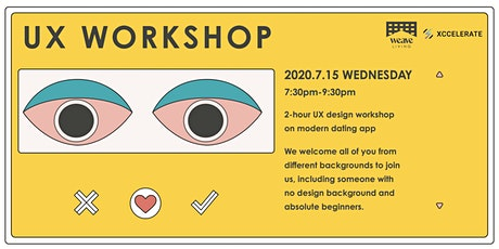 Weave Co-Living x Xccelerate - UX Workshop tickets