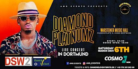 Diamond Platnumz Live Concert - Dortmund - VERLEGT AUF UNBEKANNT Tickets