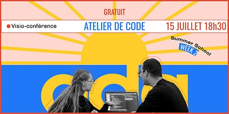 Atelier de code : fais tes premiers pas dans le code avec Ada Tech ! billets