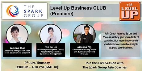 (FREE) Level Up Business CLUB Premiere tickets