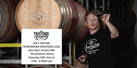 Masterclass with Giles Cooke MW from Thistledown Wines Tickets