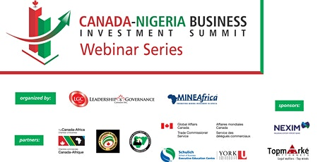 Canada-Nigeria Business & Investment Webinar Series tickets