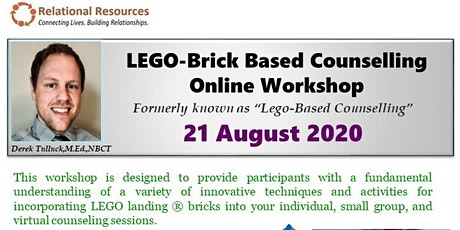Lego-Brick Based Counselling Online Workshop by Derek Tulluck tickets
