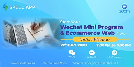 Start Your Wechat Mini Program and E-commerce Web now  线上说明会 tickets