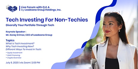 Tech Investing For Non-Techies tickets