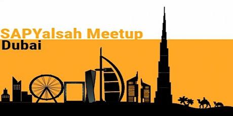 SAP Yalsah Online, 18th July 2020: SAP  Community Online Meetup Tickets