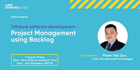 Offshore software development: Project Management using Backlog tickets