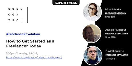 Online Panel: How to Get Started as a Freelancer Today tickets