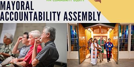 Honolulu Mayoral Accountability Assembly tickets