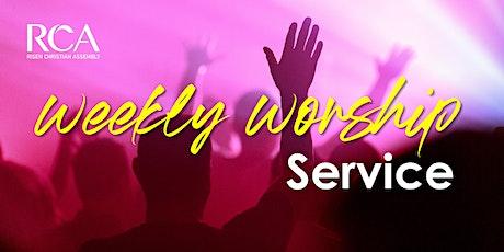 RCA Sunday Service 12JUL 9AM tickets