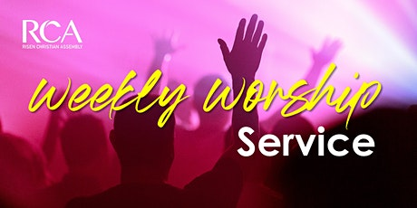 RCA Sunday Service 12JUL 10.45AM tickets