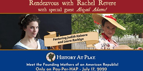 "Pay-Per-HAP ""Rendezvous with Rachel Revere,"" plus Special Guest! tickets"