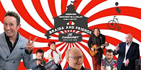 Beppe Braida and Friends | Live Cabaret dinner and show biglietti