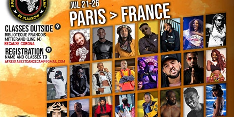 PARIS Danse l'AFRO - ABDC billets