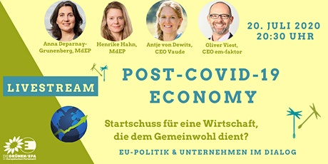 Post-COVID-19 Economy - EU-Politik und Unternehmen im Dialog Tickets