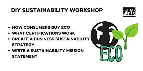 DIY Sustainability Strategy Workshop tickets