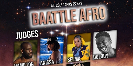 Battle de DANSE AFRICAINE - ABDC billets
