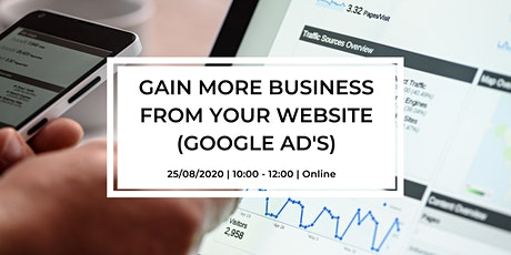 Gain More Business from your website  (Google Advertising) tickets