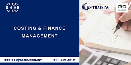 Costing and Finance Management Training [HRDF Claimable] tickets