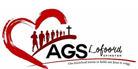 AGS Lofoord Upington Diens  Sondag om 08:00 tickets