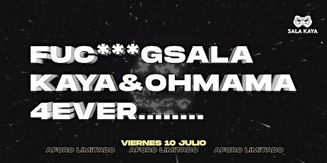 Fiesta Oh Mama reapertura - Viernes 10 entradas