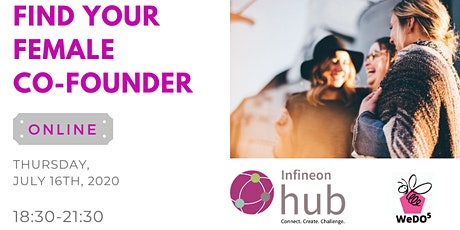FIND YOUR FEMALE CO-FOUNDER tickets