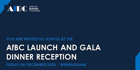 African Business Chamber (AfBC) Launch and Gala Dinner Reception tickets
