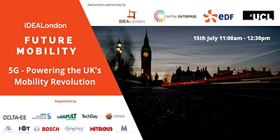 IDEALondon Future Mobility: 5G – Powering the UK's Mobility Revolution