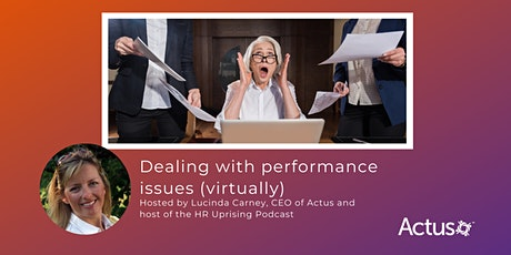 Webinar: Dealing with performance issues (virtually) tickets